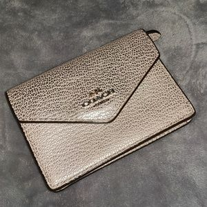 Coach Snap Wallet Keychain